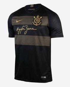 02ea33b3a2 Sport Club Corinthians Paulista - Camisa em homenagem ao piloto Ayrton  Senna.