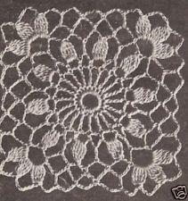 Crochet Motif Block Cluster Flower Tablecloth Pattern for sale online Crochet Tablecloth Pattern, Crochet Bedspread, Crochet Motifs, Granny Square Crochet Pattern, Crochet Flower Patterns, Crochet Squares, Crochet Granny, Crochet Designs, Crochet Doilies