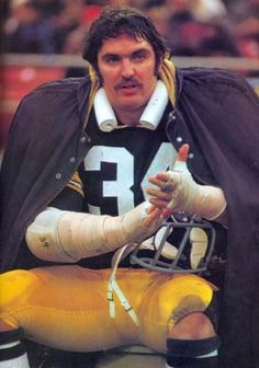 Andy Russell - Steelers LB who should be in the Hall Of Fame. He played along side two (Hall of Fame) Steeler greats, Jack Ham and Jack Lambert.