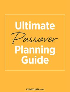 Now that purim is over, w are starting the preparation for Passover. Here is our ultimate guide for the spring season holiday!