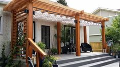 Are you get bored with your daily routine, and desires to have some peaceful time for you? then, this majestic outdoor pergola is just presented for you only. This pergola shed is magically styled out with a fabric to deliver you the best-shaded area while sitting in the outdoor of your house.