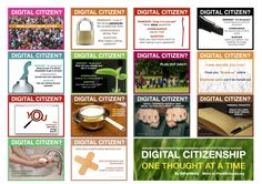 Thinking Digital Citizenship - Slides