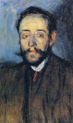 """Pablo Picasso, """"Portrait de Minguell"""", 1901"""