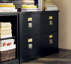 Bedford Lateral File Cabinet | Pottery Barn