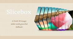 Slicebox Jquery/CSS3 Slider
