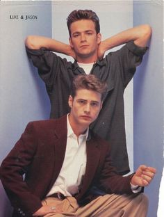 Dylan and Brandon - thank god the old 90210 is on Netflix!!