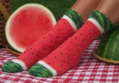 Cute Socks #watermelon #cute #socks