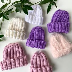 Baby Knitting Patterns, Knitted Hats, Winter Hats, Nepal, Fashion, Caps Hats, Threading, Moda, Fashion Styles