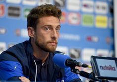 Claudio Marchisio of Italy during press conference on June 10 2014