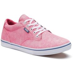 Vans Winston Women's Skate Shoes (2,295 DOP) ❤ liked on Polyvore featuring shoes, sneakers, dark pink, grip trainer, vans sneakers, skate shoes, lacing sneakers and low cut sneakers