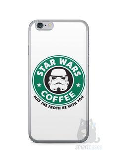Capa Iphone 6/S Star Wars Coffee - SmartCases - Acessórios para celulares e tablets :)