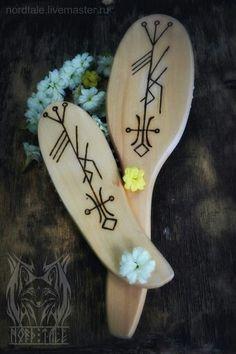 Icelandic runes for hair growths.