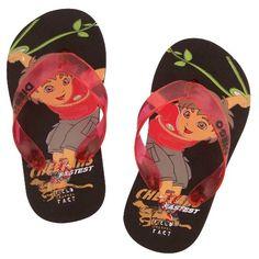 """Go Diego Go Toddler Flip Flops / Thongs Sandals Black """"Cheetahs"""" 5/6 Go Diego Go http://www.amazon.com/dp/B004SGZAG6/ref=cm_sw_r_pi_dp_EODMub19RBWZ4"""