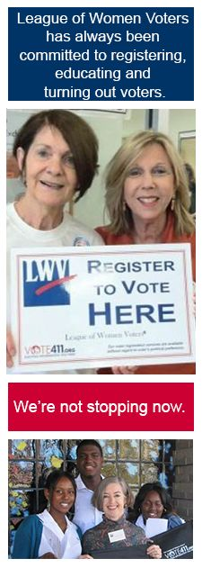 SIGN the Pledge to Protect the National Voter Registration Act | League of Women Voters | Please SIGN and share. Thanks.