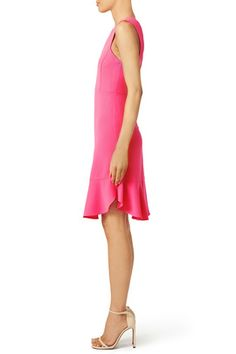 Fuchsia Flutter Lover Dress by Rebecca Taylor