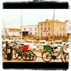 La Flotte port, Il de Re, South France