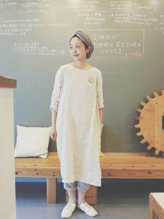 studio CLIPのワンピース「【studio CLIP】 リネンタックワンピース」を使ったmasumi(visuna)のコーディネートです。WEARはモデル・俳優・ショップスタッフなどの着こなしをチェックできるファッションコーディネートサイトです。
