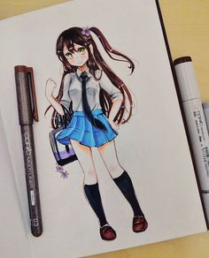 So cool and kawaii!!!!!!!!! Keep drawing