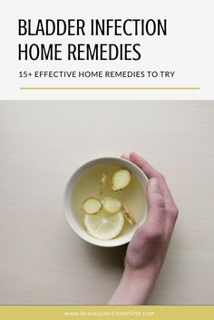 Discover the best bladder infection home remedies to try now!