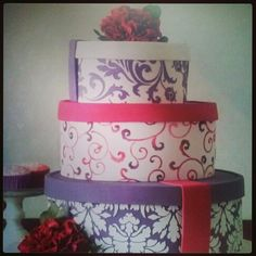 Boxes Cake