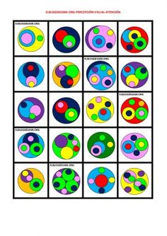 memoria, percepción visual…. Mejorar las habilidades Kids Learning Activities, Preschool Worksheets, Infant Activities, Visual Perception Activities, Pattern Matching, Montessori Toddler, Art N Craft, 3d Shapes, Blog