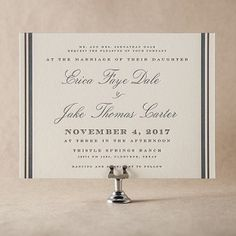 Abilene Wedding Invitation Design