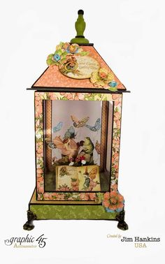The Gentleman Crafter: CHA PROJECTS: Once Upon A Springtime Fairy Lantern and Ranger Designer Challenge.