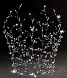 a willowy fairie crown >>> queen Maeve's crown?>>>OOOH! I likey!