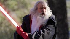 Santa Fights Jesus in STAR WARS: THE SANTA MENACE Short Film