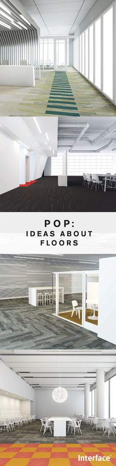 No designer should be without our new design guide: POP. Interface's most popular carpet tile products are beautifully configured within flooring solutions that solve your commercial design challenges. Elegant, affordable and available for quick delivery.