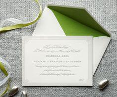 Isabella Wedding Invitations