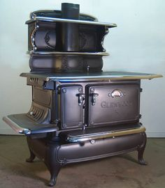 The cook stove in the novel SHADOW OF THE HAWK burned both wood and coal. (wood and coal burning cook stove - Bing Images)