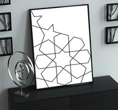 For only $5, I will design printable black and white wall art. | I will design your Wall Art Printable artworks Black and White Arts in elegant Style Print out this wall artwork from your home computer or | On Fiverr.com