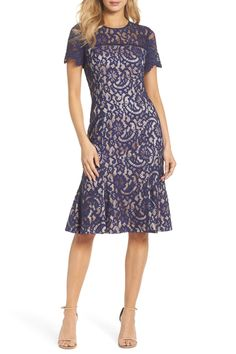 56606d51e7c Eliza J - Lace Midi Dress is now 62% off. Free Shipping on orders