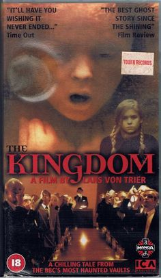 c355efd438c 2 VHS Lars Van Trier The Kingdom 18 Horror Stories English Subtitles BBC
