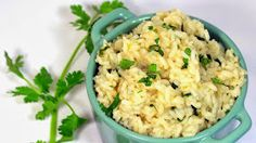 Inspired By eRecipeCards: Cilantro Lime Rice - 52 Church PotLuck Side Dish