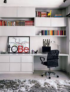 Decoração de home office.