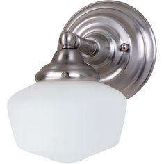 Sea Gull Lighting Online Dealer | Academy - One Light Wall/Bath Vanity