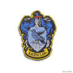 Ravenclaw Crest™ Embroidered Patch | Ravenclaw™ | Warner Bros Studio Tour London
