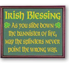 Funny Irish Sayings & Blessings