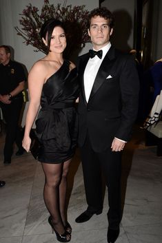 Henry Cavill and Gina Carano at Tom Ford Cocktail Party
