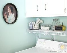 Laundry Room Makeover -- Ask Anna