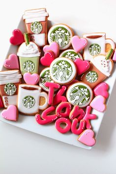 Sweeten your day.: Starbuckscoffee icing cookies!    スタバのアイシングクッキー