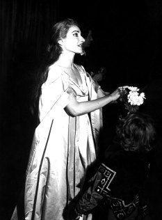 Unseen photos: Maria Callas at La Scala 1