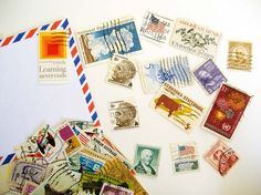 I think old stamps are beautiful