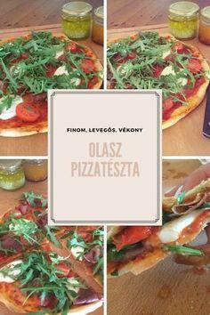 Olasz pizzatészta recept