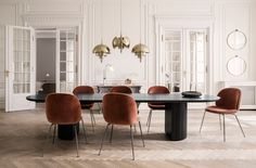18 of the most stylish and inviting dining rooms we've featured on Nordic Design last year.