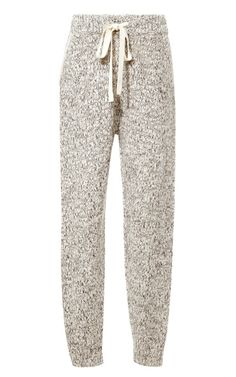 Shop Marled Knit Sweatpants by Thakoon Addition Now Available on Moda Operandi