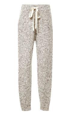 Thakoon Addition Marled-Knit Sweatpants