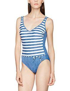 Jetzt verfügbar EUR 59,95 Olympia Damen Einteiler Byron Bay, Blau (Blau/Weiß 2601), 40 (Herstellergröße: 40B) #olympia #damen #einteiler #byron #weiß #herstellergröße